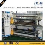 Máquina que raja de la película plástica del PVC del mecanismo impulsor del motor servo del nuevo producto