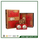 Scatola di di legno intagliata unica personalizzata promozionale il tè