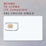 tarjeta estándar de la prueba de la tarjeta Cmu200 del teléfono de 3G 4G WCDMA TD-SCDMA Lte SIM