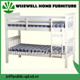 Wooden Bunk Bed in White Color (WJZ - B63)