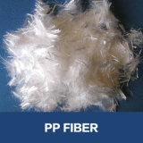 Monofilamento de la fibra de los PP de la adición de la construcción del mortero de Crackless