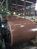 Cobre recubierto de aluminio de acero de zinc bobina PPGL para placa de contenedores