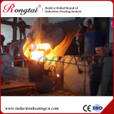 Forno di fusione delle coperture di alluminio per media frequenza da 0.75 tonnellate per la fonderia