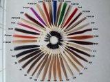 브라질 Virgin Remy 사람의 모발, 똑바로 Ombre 색깔 씨실