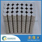 Magneten van het Neodymium van de cilinder de Permanente N35 N38 N40 N52 voor Motor