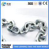 Lisser la chaîne de lien galvanisée électrique soudée de DIN5685A sous peu