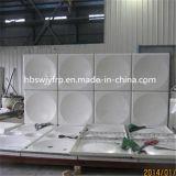 les panneaux du plastique 10-1500cbm renforcé par fibre de verre ont assemblé le réservoir d'eau sectionnel de FRP SMC pour le stockage d'eau potable potable