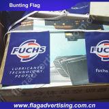 Вымпел полиэфира MOQ 1PC декоративный, Bunting флаг, флаг шнура