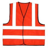 Тельняшка безопасности En20471 высокая Refletive предупреждающий