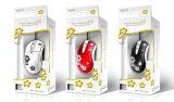 Gewölbtes Papier-Geschenk-Kasten-Farben-Verpackungs-Karton-Kasten (D41)
