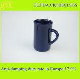 Tasse en céramique de la glaçure 9oz en gros avec le traitement pour le café