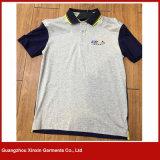 Camisa de te moderna cómoda por encargo del polo (P125)