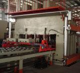 Línea de la prensa del ciclo corto automático de la carpintería que lamina