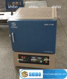 Horno de mufla superior de 1700 bancos calentado por los elementos de calefacción Mosi2