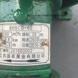 Bomba de prensa de la mano del color verde de 3 pulgadas 80scb-65