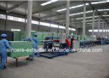 O XPS o mais atrasado espumou linha de produção máquina do painel isolante da parede 900mm