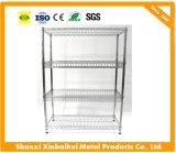 Шкаф ячеистой сети крома, Shelving провода кухни и Shelving стального провода
