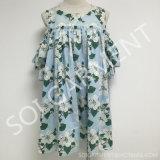 Платье нового -Плеча печати рейона типа свободное для женщин (DR-92)