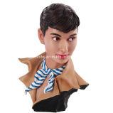 収集できる1/1の樹脂の実質の彫像のバスト(30 cm)