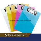 A4, A5, A6, prancheta do plástico de FC