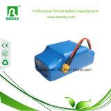 60V 2.2ah Li-Ionbatterie für E-Roller einer Rad