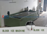 Grande machine commerciale de fabrication de blocs d'icee