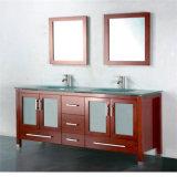 商業二重流しの浴室の虚栄心を立てるアメリカのタイプ床