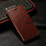 iPhone 6 Mobile Phone Cover Case를 위한 Quality 높은 Luxury Flip PU Leather Case