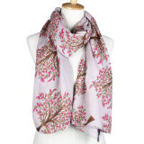 Lady Spring Fashion Viscose Impresso Silk Scarf