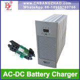 380VAC+-15% al caricabatteria 190-300VDC per il sistema di riserva della batteria