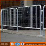 Отделяемые барьеры управлением толпы металла ноги (сертификат ISO 9001 фабрики)