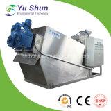 廃水処置のための絶えず自動クリーニング式沈積物の排水機械の作動