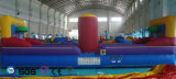 Coco-Wasser-Entwurfs-aufblasbares Basketballplatz-Prahler-Schloss LG9059