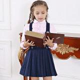 Modèle d'uniforme scolaire pour la bonne robe d'uniforme scolaire d'uniformes de début de filles