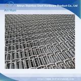 Сетка волнистой проволки Weave нержавеющей стали 316 латуни 304 сильной структуры сверхмощная для сбывания