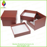 Natale Chocolate Packaging Box con Foil Stamping