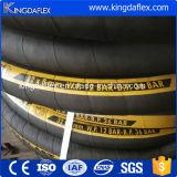 Tela textil trenzado de alta presión reforzado con chorro de arena de tuberías