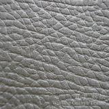 Tissu 100% micro de cuir gravé en relief de polyester de suède pour la maison