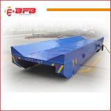 carretilla industrial de la transferencia del carril 40t en los carriles para que manipulación de materiales resistente cruce la bahía