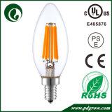 E14 LED 전구 C35 유리 2W 4W 운전사 230V LED 필라멘트 전구