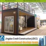 Полуфабрикат модульная дом контейнера/быстро собранная Prefab дом
