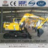 Máquinas escavadoras pequenas da esteira rolante de Shandong com a cubeta 0.4m3