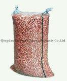 Saco tecido de empacotamento para a alimentação da semente