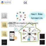 Затемнителя стены продуктов домашней автоматизации Zigbee Iot панели касания переключатели беспроволочного франтовского франтовские
