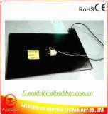Пусковая площадка нагрева электрическим током на подогреватель 550*350*7mm силикона черноты покрышки
