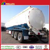 Remorque sèche de camion-citerne de la colle de transport de pouvoir semi