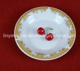 Piatto poco costoso di ceramica all'ingrosso della Cina Dinnerset