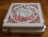 튼튼한 테이크아웃 패킹 우편 피자 상자 (CCB1001)