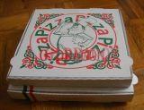 De euro Doos van de Pizza van Kraftpapier van de Stijl Dunne Maat Golf (CCB1001)