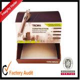 Rectángulo de regalo de encargo al por mayor del papel de la alta calidad, rectángulo del cartón, bolsa de papel, caja de presentación, rectángulo de empaquetado (LP021)